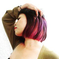 ピンクや紫カラーもお好きな方